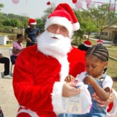 SOS Orphans enjoy festive fun with The First Group