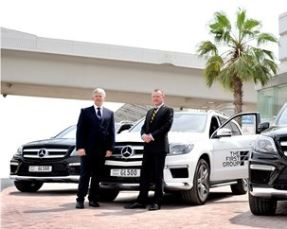 The First Group teams up with Gargash Mercedes-Benz
