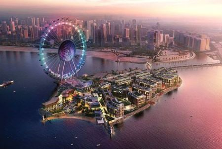 Work starts on bridge projects for Dubai's $1.6bn Bluewaters Island