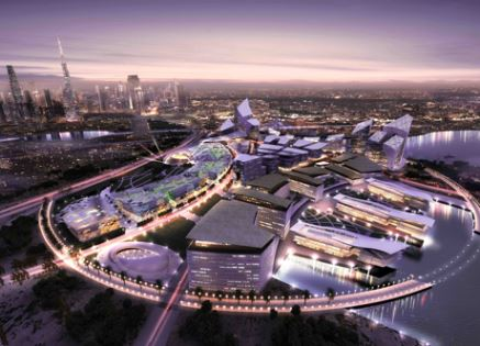 A rendering of Dubai Design District