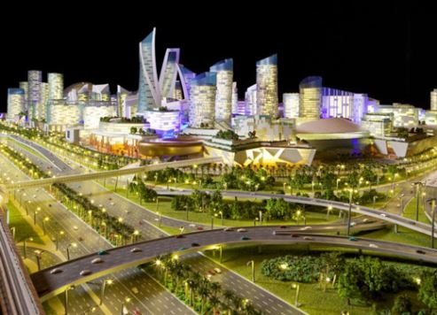 An artist's impression of Mall of the World.