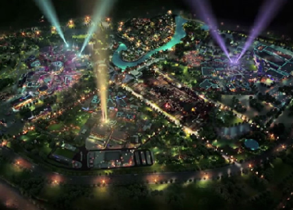 An artist's impression of Dubai Parks & Resorts