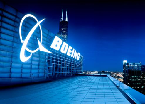 Boeing's global HQ.