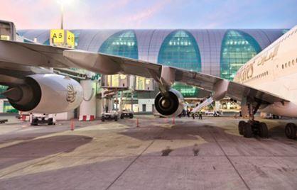 مطار دبي الثالث عالمياً في إجمالي المسافرين