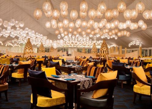 The Asateer Tent located at Atlantis, The Palm