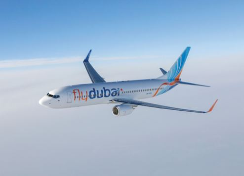Fly Dubai Airplane