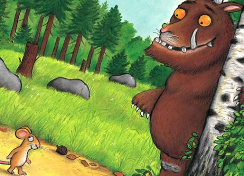 The Gruffalo will feature at Dubai Mall.