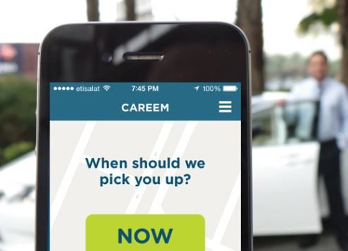 The Careem app