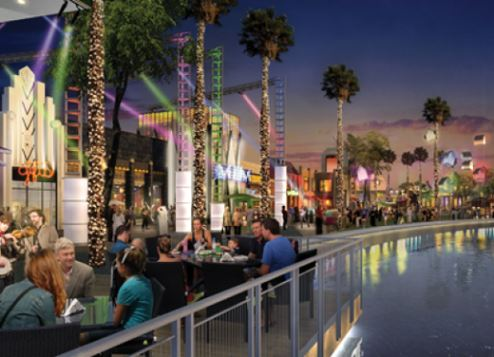 Dubai Parks and Resorts' Riverland retail precinct