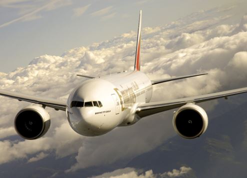 Emirates Boeing 777-200LR aircraft