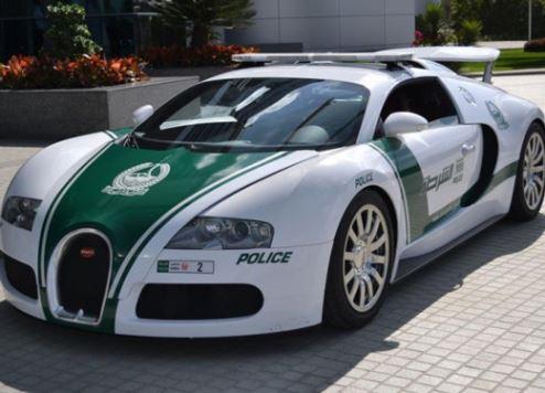 Dubai Police Bugatti Veyron.