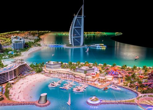Plans for new Dubai twin-island mega tourism project unveiled