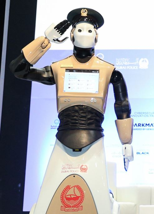 Dubai Police launches the UAE's first 'Robocop'