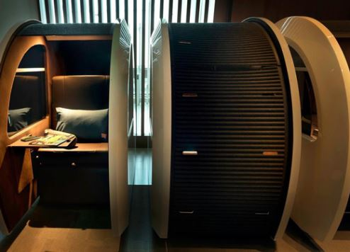 Innovative 'sleep 'n fly' lounge opens at DXB