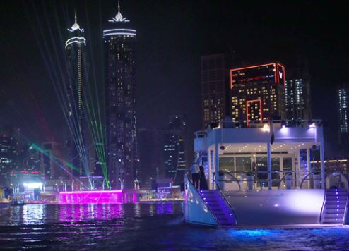 Dubai's new mega marina project gets under way