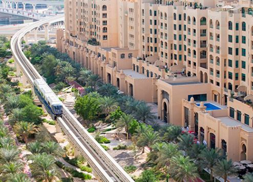 New monorail station opens on Dubai's Palm Jumeirah island