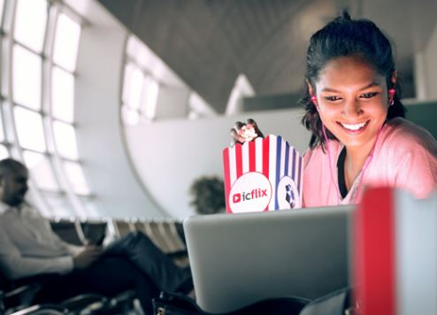 Dubai International Airport premieres free movie experience