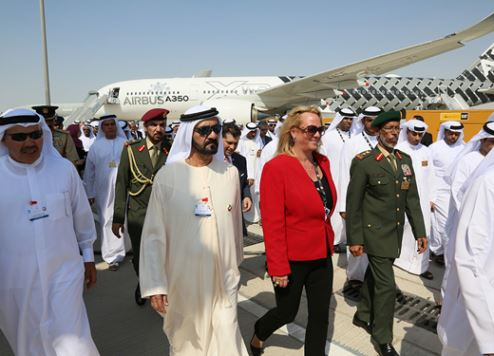 Dubai Air Show breaks all records with $114bn-worth of orders