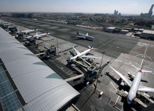 نمو حركة السفر عبر مطار دبي في أكتوبر