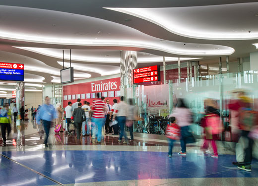 Dubai International welcomes almost 7 million passengers in February