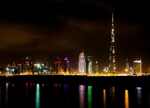 Dubai Night Shot