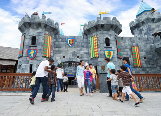 Dubai's mega theme park sees spike in visitor numbers