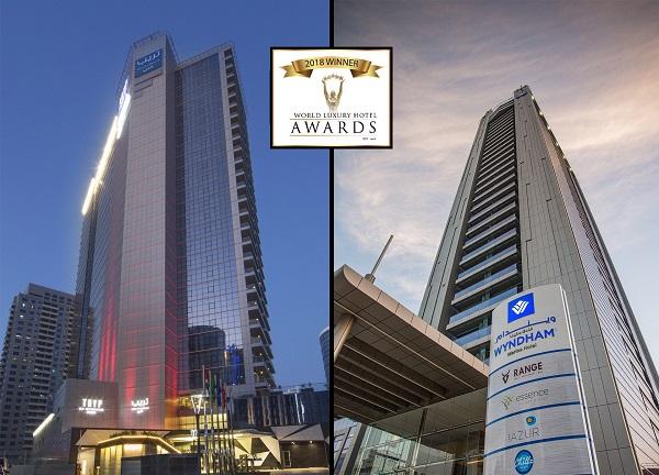 فنادق ويندام من شركة ذا فيرست جروب تفوز بجائزتين مرموقتين في حفل توزيع جوائز الفنادق العالمية الفاخرة